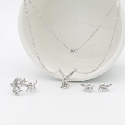 Set de bijuterii de argint Forest Fairy