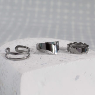 Inele midi minimaliste din argint Simple (7)