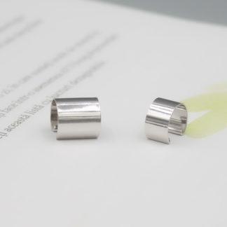 Ear cuff minimalist din argint