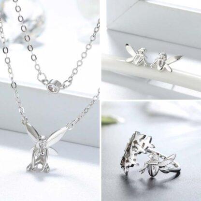 Set de bijuterii de argint Forest Fairy (1)